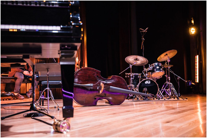 Instrumenti na sceni jazz